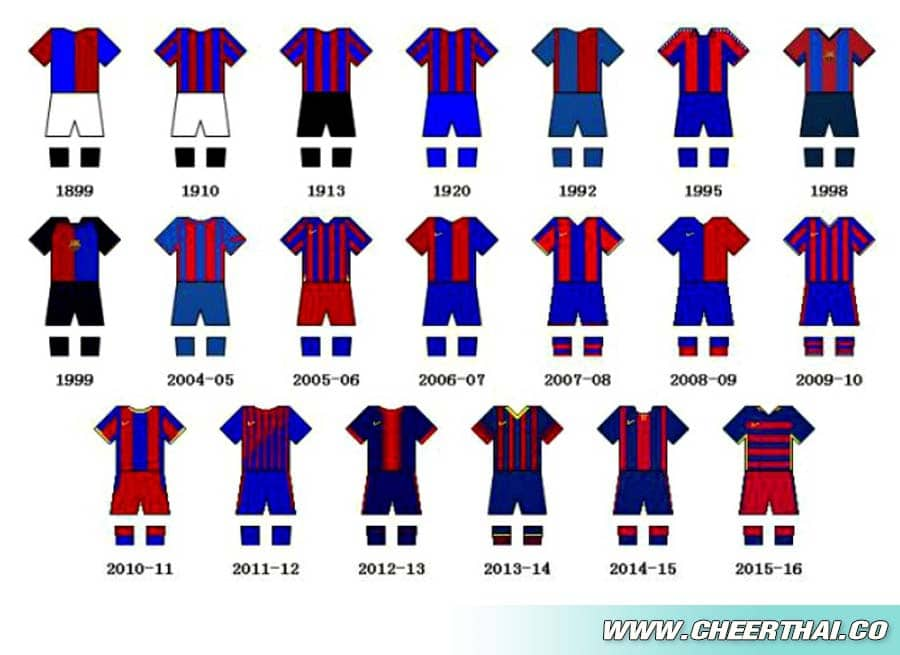 shrit kit barcelona